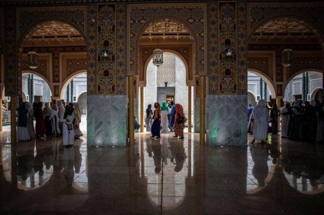 Открытие новой мечети в Сенегале