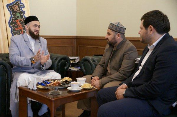 Встреча прошла в резиденции муфтия Татарстана.