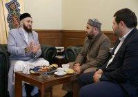 Муфтий Татарстана встретился с первым замглавы ДУМ Дагестана