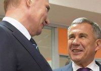 Минниханов поздравил Путина с днем рождения