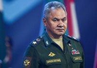 Шойгу провел телефонные переговоры с главой Пентагона