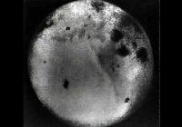 Обнародован один из первых снимков обратной стороны Луны