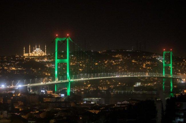 1. Мечеть находится на холме Чамлыджа с потрясающим видом на Стамбул. Фото: Chris McGrath