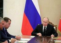 Путин провел заседание Совбеза России в связи с эскалацией в Сирии