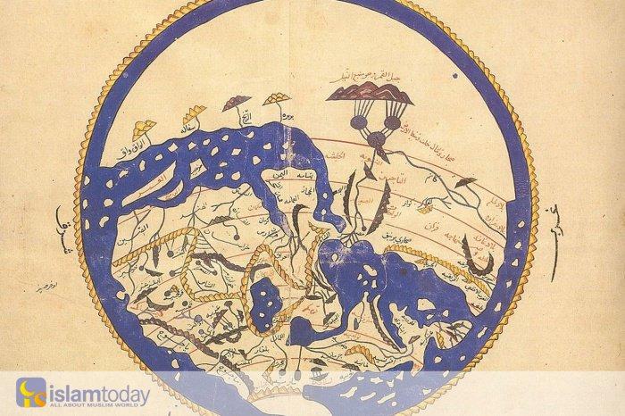 Первая географическая карта, составленная потомком внука Пророка Мухаммада (мир ему)