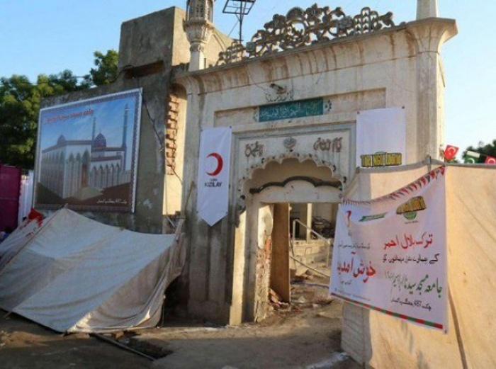 Мечеть Хазарат Ибрагим была возведена в 1901 году.