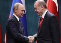Путин и Эрдоган обсудили военную операцию Турции на северо-востоке Сирии