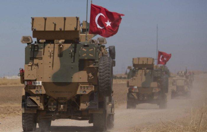 Турция продолжает военную операцию в Сирии.