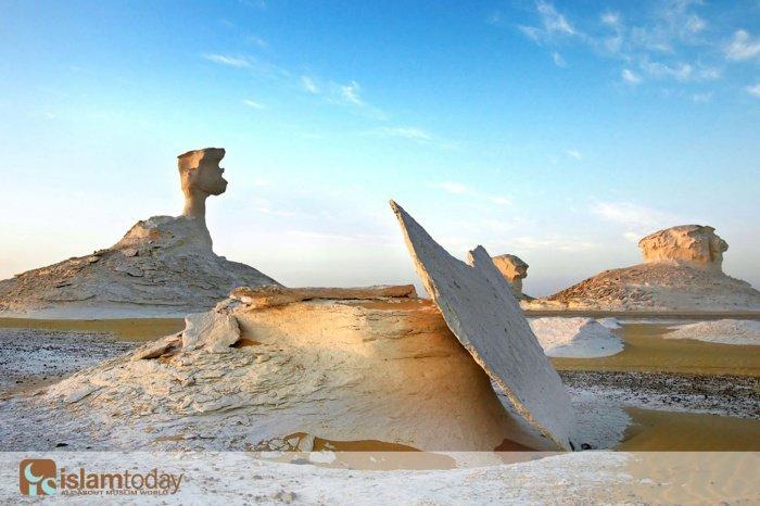 Национальный египетский парк White Desert. Фото из социальной сети ВКонтакте