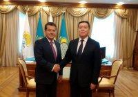 Мэр Казани встретился с премьер-министром Казахстана