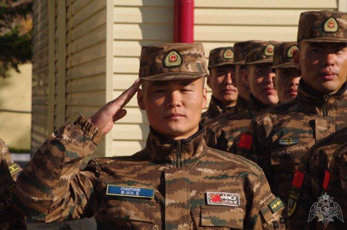 Китайские полицейские прибыли в Новосибирск.