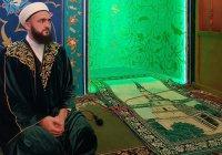 Муфтий Татарстана возглавил пятничный намаз в уфимской мечети «Ихлас»