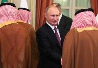 Путин подарит королю Саудовской Аравии камчатского кречета