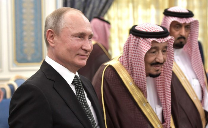 Владимир Путин и король Салман.
