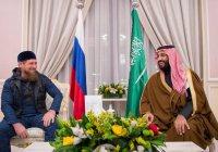 Кадыров заявил, что ожидает приезда саудовского кронпринца в Чечню