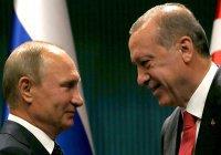 Путин и Эрдоган встретятся в Сочи 22 октября