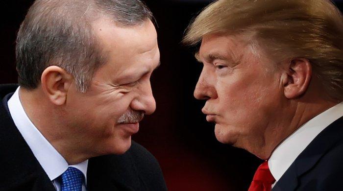 Трамп написал письмо Эрдогану.