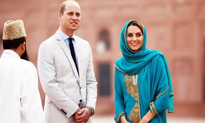 Принц Уильям и Кейт Миддлтон в Пакистане.