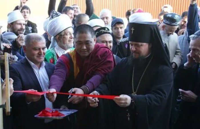 Первая соборная мечеть открылась в Биробиджане (Фото)