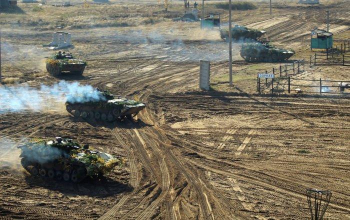 Военные стран ОДКБ начали совместные военные учения.
