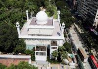 Крупнейшая мечеть Гонконга пострадала в результате беспорядков