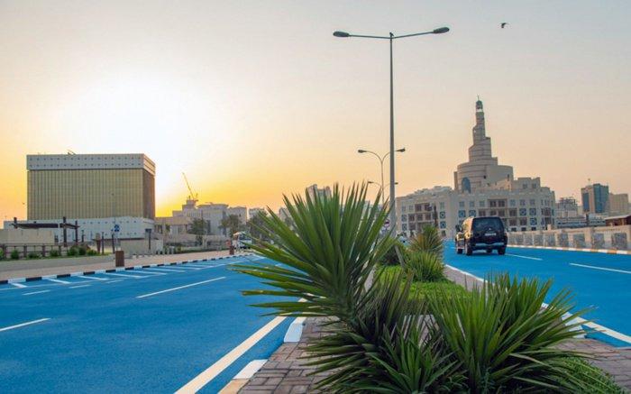 В Катаре продолжается рекордная жара.