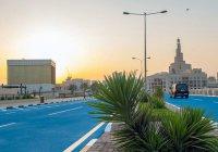 На улицах Катара устанавливают кондиционеры