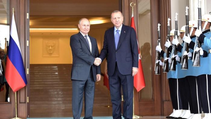 В Сочи проходят переговоры президентов России и Турции.
