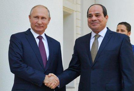 Путин: отношения России и Египта развиваются весьма успешно
