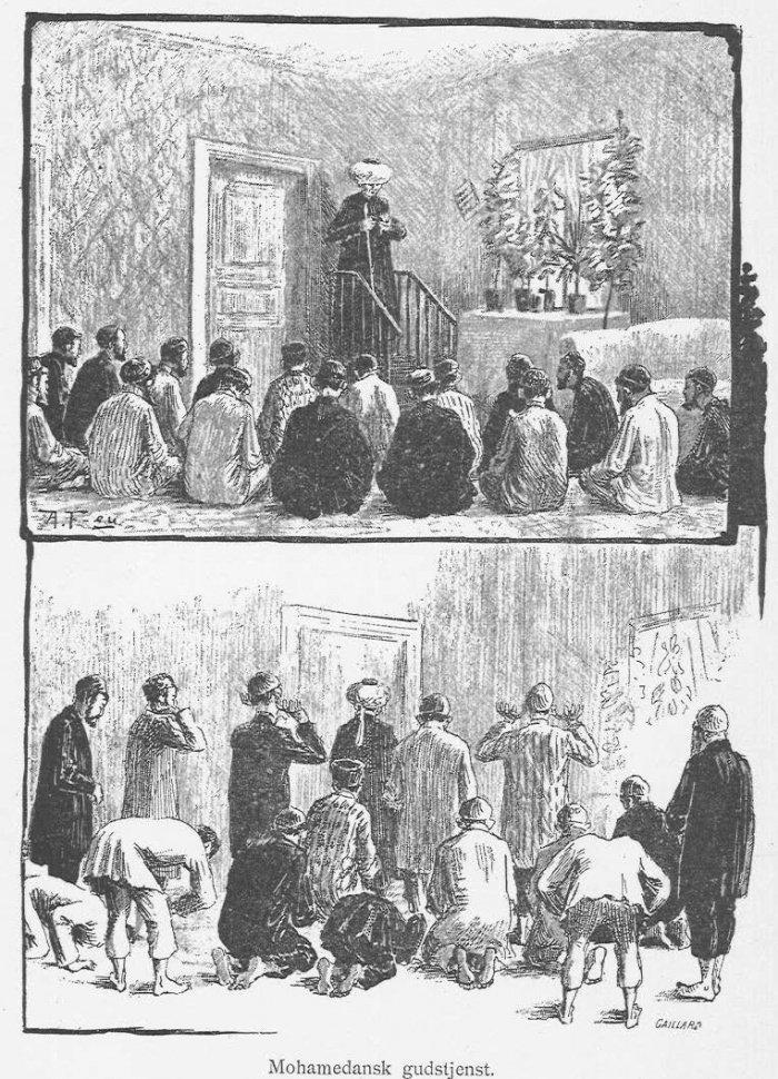 Пятничный намаз в Гельсингфорсе в конце XIX в.