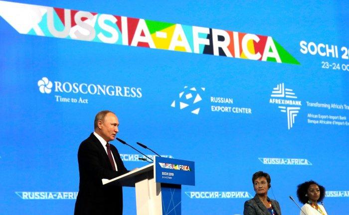 Президент России назвал сумму списанных долгов африканских стран.