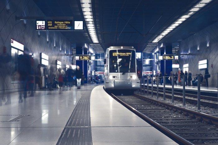 Новая станция метро открылась в Каире.