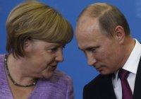 Владимир Путин проинформировал Ангелу Меркель о договоренностях по Сирии