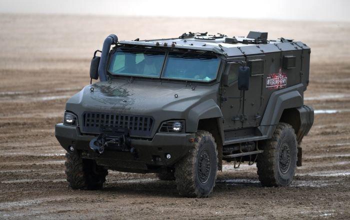 Узбекистан получит российские бронеавтомобили «Тайфун».