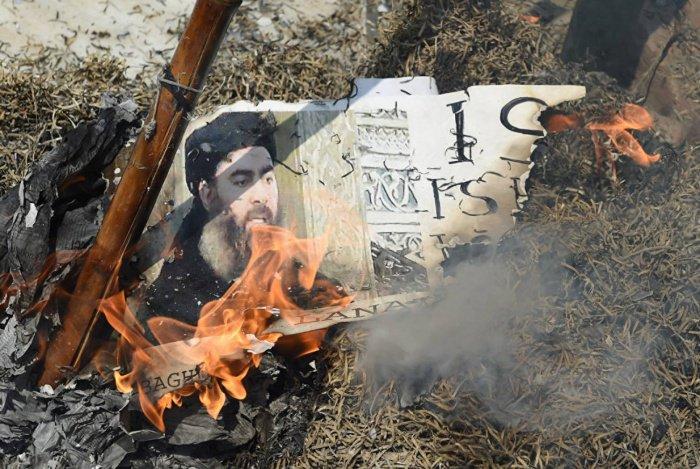 Стало известно о захоронении останков аль-Багдади.