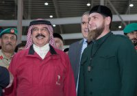 Кадыров встретился с королем Бахрейна