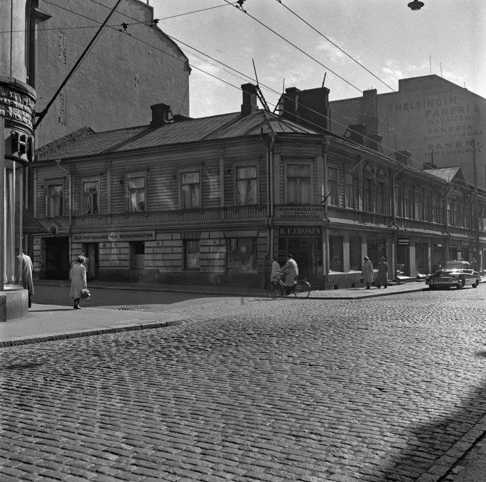 Здание купленное татарской общиной в 1948 году на улице Фредрикинкату 33. Городской музей Хельсинки