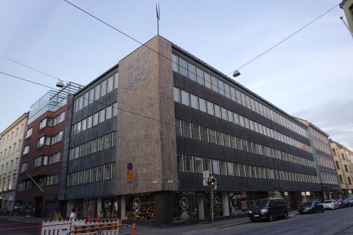Здание татарской общины на улице Фредрикинкату 33 в Хельсинки. Современный вид