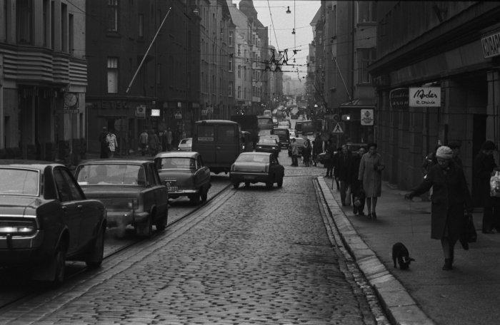 Улица Фредрикинкату, 1974 год. Городской музей Хельсинки