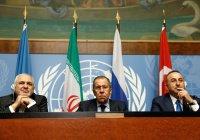 Россия, Иран и Турция сделали совместное заявление по Сирии