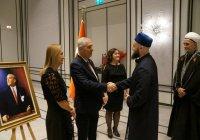 Муфтий РТ принял участие в официальном приеме генконсула Турции в Казани