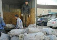БФ «Закят» раздал нуждающимся тонну картофеля