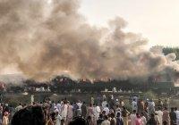 Россия выразила соболезнования в связи с пожаром в Пакистане, где погибли более 70 человек