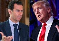 Башар Асад назвал Трампа лучшим президентом в истории США
