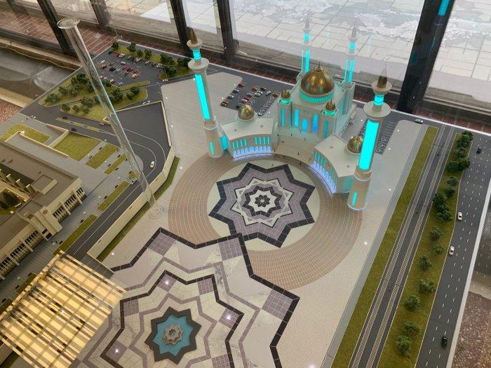 Мечеть появится в центре города.