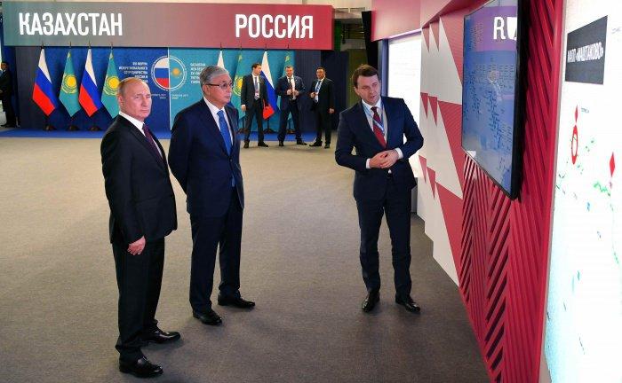Россия и Казахстан условились о расширении сотрудничества.