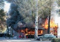 В центре Бишкека прогремело три мощных взрыва