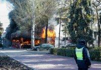 Один человек погиб в результате взрывов в Бишкеке