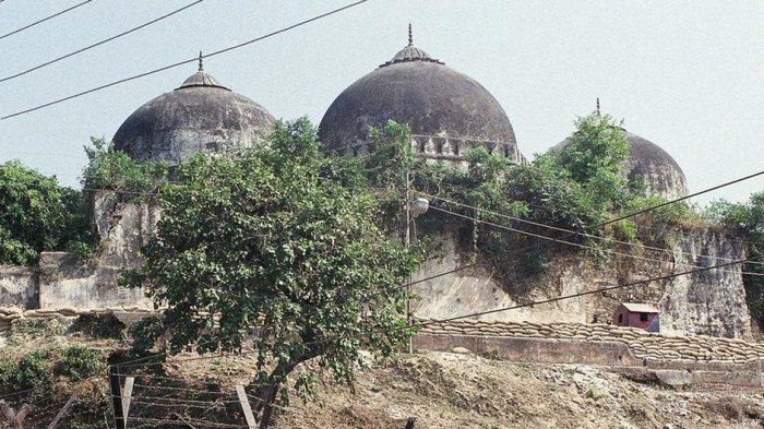 Мечеть Бабри в Индии.