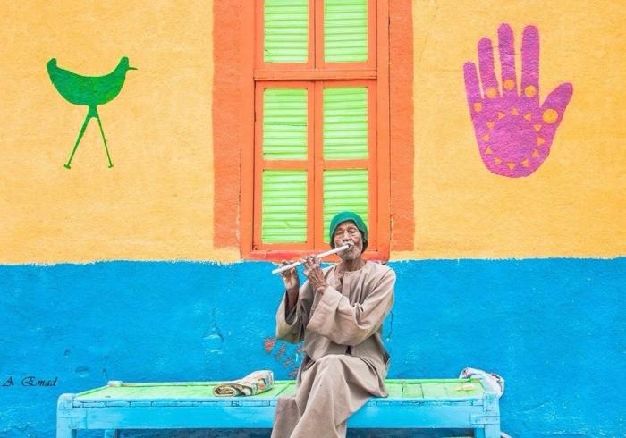 В Нубийских деревнях также устраиваются музыкальные вечера.